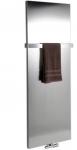 MAGNIFICA kúpeľňový radiátor 45 cm brúsená nerez