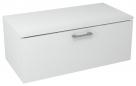 MAKALA skrinka s vrchnou doskou 90 cm biela