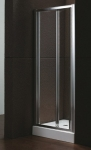 Aquatek MASTER B6 chróm sklápacie čelné dvere 80, 85, 90, 95, 100 cm