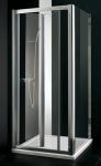 Aquatek MASTER F6 sprchová stena chróm 70-100 cm