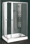 Aquatek MASTER R24 obdĺžnikový sprchový kút 120 x 80 cm