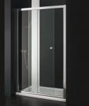Aquatek MASTER B2 CHROM zásuvné čelné dvere 120, 125, 130, 135, 140 cm