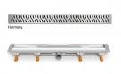MCH HARMONY podlahový žľab  35 - 85 cm lesklý/matný