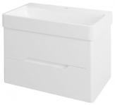 MEDIENA skrinka pod umývadlo 80 cm matná biela