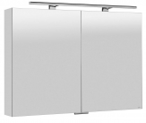 MIRRÓ zrkadlová skrinka s LED osvetlením 100 cm