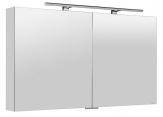 MIRRÓ zrkadlová skrinka s LED osvetlením 120 cm