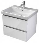 My Bath MYVENTO umývadlová skrinka 60 cm s 2 zásuvkami biela