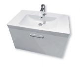 SET závesná skrinka MY BATH 80 + umývadlo Villeroy & Boch SUBWAY 2.0 80 cm