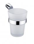 Nimco pohár s držiakom BORMO mat sklo/chróm BR 11058C-26