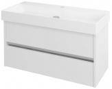 NIRONA skrinka pod umývadlo 100 cm biela
