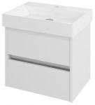 NIRONA skrinka pod umývadlo 60 cm biela