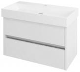 NIRONA skrinka pod umývadlo 85 cm biela
