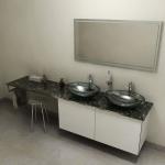 OLIVER doska pod umývadlo 60-120-250 cm Grigio carnico
