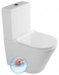 PACO WC misa kombi RIMLESS s nádržkou