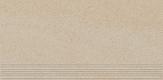 Paradyz ARKESIA BEIGE satyna schodovka 60x30 cm béžová