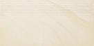 Paradyz ARKESIA BIANCO satyna schodovka 60x30 cm krémová