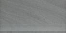 Paradyz ARKESIA GRIGIO satyna schodovka 60x30 cm šedá