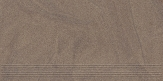 Paradyz ARKESIA MOCCA satyna schodovka 60x30 cm tmavohnedá