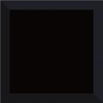 Paradyz TAMOE KAFEL NERO lesklý obklad 20x20 cm čierna