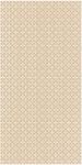 Paradyz MEISHA BIANCO obkladový dekor B matný 30 x 60 cm krémový