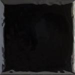 Paradyz TAMOE NERO ONDULATO lesklý obklad 10x10 cm čierna