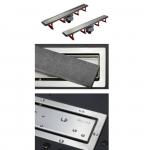 Pestan CONFLUO PREMIUM LINE podlahový žľab 30-85 cm + rošt oceľ/pre vloženie dlažby