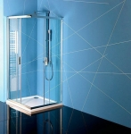 Polysan EASY LINE obdĺžnikový sprchový kút 90x80 cm