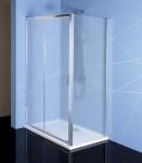 Polysan EASY LINE obĺžnikový sprchový kút 110-120 x 70-100 cm