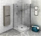 Polysan FORTIS LINE štvorcový/obdĺžnikový sprchový kút 80-120-150 x 80-120-150 cm
