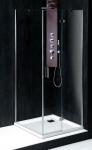 Polysan VITRA LINE štvorcový sprchový kút 90/100 cm ľavý/pravý