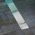 Ravak CHROME nerezový podlahový žľab 850/950/1050