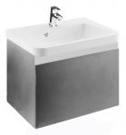 Ravak KONCEPT 10° skrinka pod umývadlo 55 cm sivá lesklá