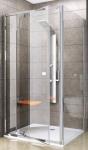 Ravak PIVOT obdĺžnikový/štvorcový sprchový kút 100/110/120 cm PDOP2 + PPS