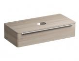 Ravak SUD skrinka pod umývadlo na dosku 110 cm satinové drevo