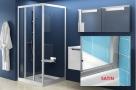 Ravak SUPERNOVA obdĺžnikový/štvorcový sprchový kút 80/90/100 cm satin