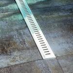 Ravak ZEBRA plastový podlahový žľab 750/850