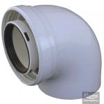 Regulus komínové koleno priemer 80 / 125 – 90° kondenz.
