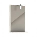 Kolo REKORD zrkadlo s osvetlením 44,3 cm biele