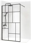 Rhea BLEND-2 industriálna walk-in sprchová zástena 90-120 cm