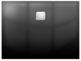 Riho BASEL obdĺžniková sprchová vanička čierna lesklá 100/120 x 80 cm