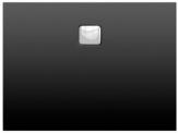 Riho BASEL obdĺžniková sprchová vanička čierna matná 100/120 x 80 cm