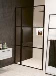 Riho GRID sprchové dvere do niky 110-120-130 cm