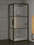 Riho GRID obdĺžnikový sprchový kút 130 x 80-90-100 cm