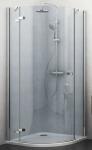 Roltechnik ELEGANT LINE štvrťkruhový sprchový kút 90 / 100 cm pravý GRP1