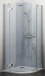 Roltechnik ELEGANT LINE štvrťkruhový sprchový kút 90 / 100 cm ľavý GRL1