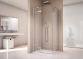 Ronal SanSwiss ANNEA štvorcový sprchový kút 90 cm