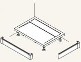 Ronal Sanswiss ILA L-panel pre obdĺžnikovú sprchovú vaničku