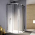 Ronal SanSwiss PUR LIGHT S štvrťkruhový sprchový kút 90/100 cm PLSR