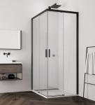 Ronal SanSwiss TOP-LINE S BLACK štvorcový/obdĺžnikový sprchový kút 70-120 cm čierny