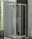 Ronal SanSwiss TOP-LINE štvrťkruhový sprchový kút 80/90/100 cm